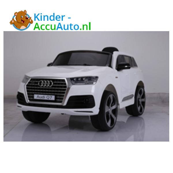Audi Q7 sline Wit Kinderauto 7