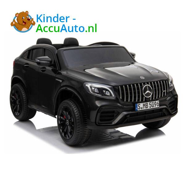 Mercedes G63 Zwart Kinderauto 2 Persoons AMG 4