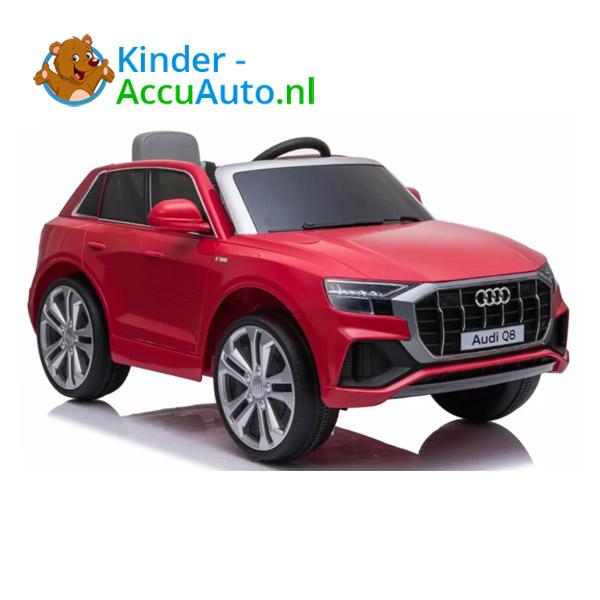 Audi Q8 Rood Kinderauto 1