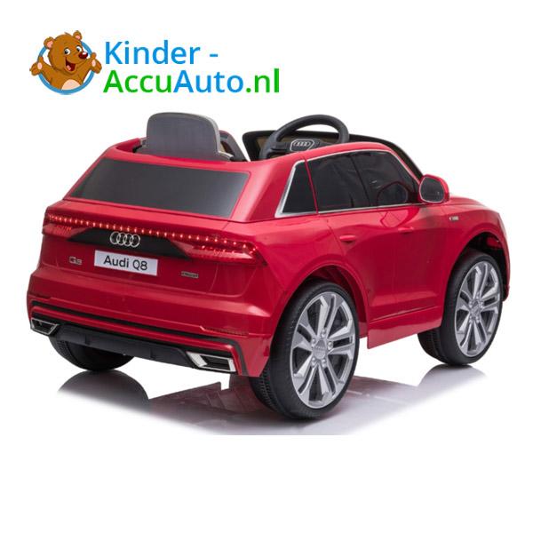 Audi Q8 Rood Kinderauto 3