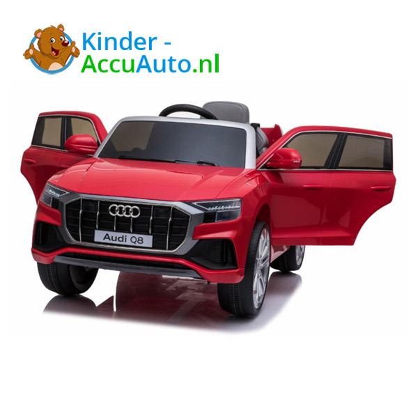 Audi Q8 Rood Kinderauto 6