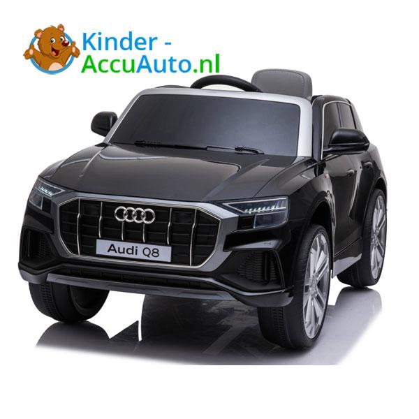 Audi Q8 SLine Zwart Kinderauto 1