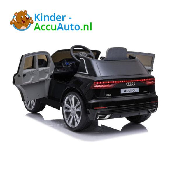 Audi Q8 SLine Zwart Kinderauto 2