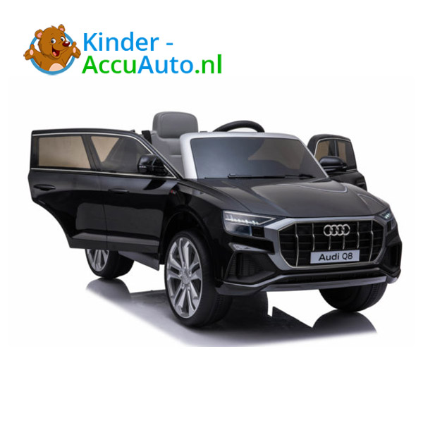 Audi Q8 SLine Zwart Kinderauto 3