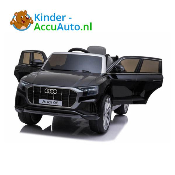 Audi Q8 SLine Zwart Kinderauto 4