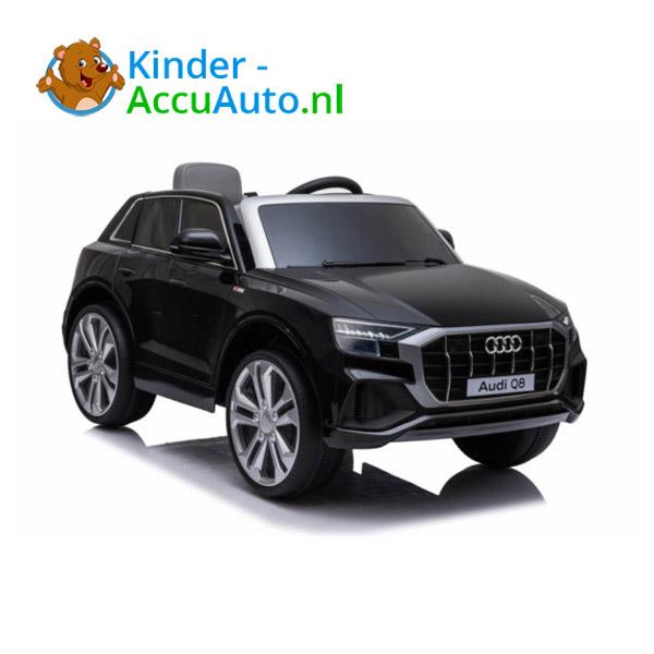 Audi Q8 SLine Zwart Kinderauto 5
