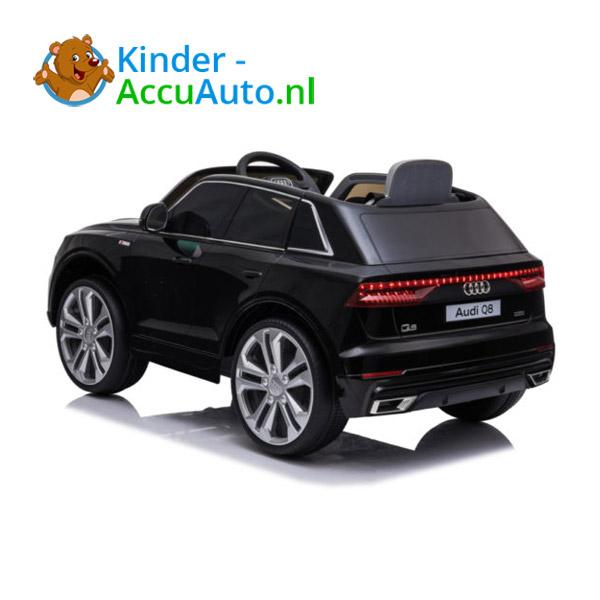Audi Q8 SLine Zwart Kinderauto 6