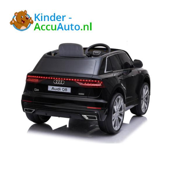 Audi Q8 SLine Zwart Kinderauto 8