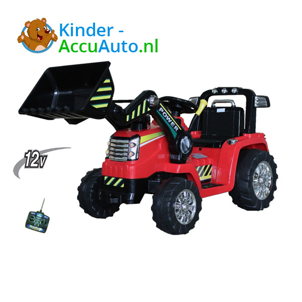 Tractor Rood Kindertractor 2