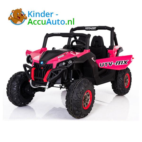 Beach Buggy Roze Kinderauto 1