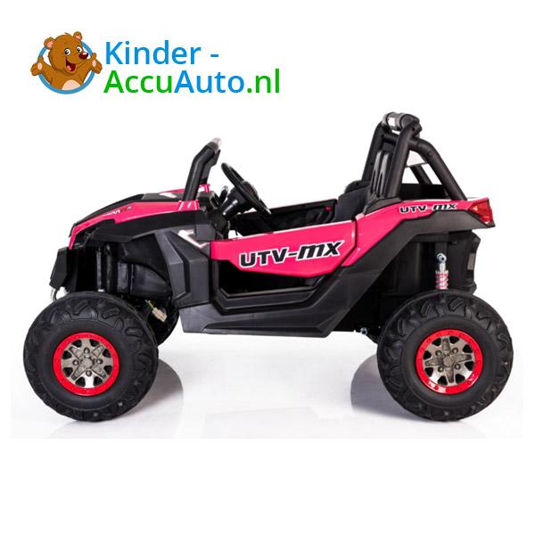 Beach Buggy Roze Kinderauto 4