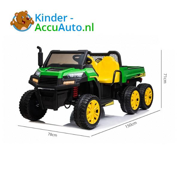 Gator Farm Truck Groen Kindertractor 5