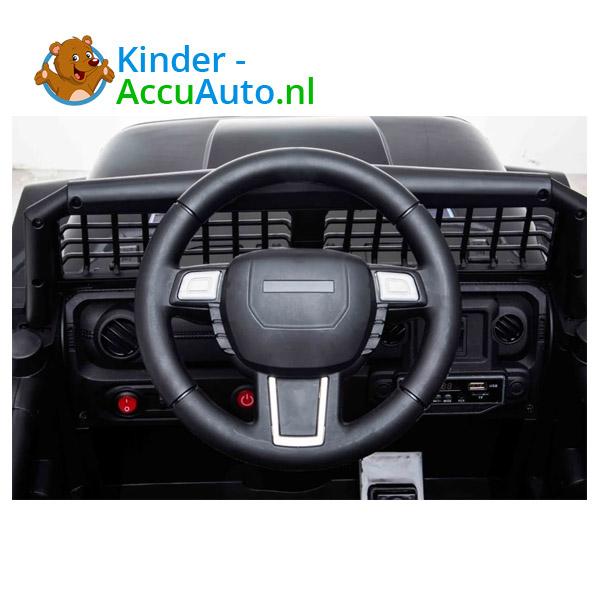 Jeep Mountain King Zwart Kinderauto 10
