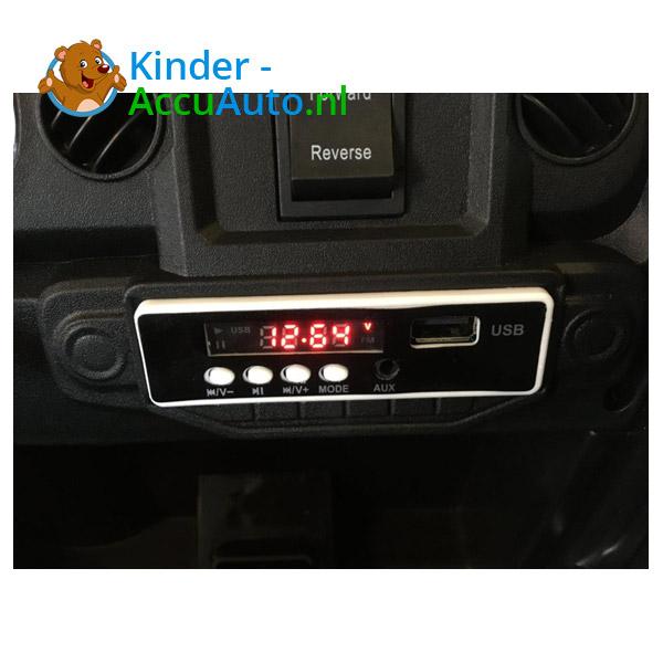 Jeep Mountain King Zwart Kinderauto 13
