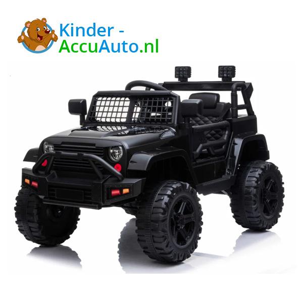Jeep Mountain King Zwart Kinderauto 2