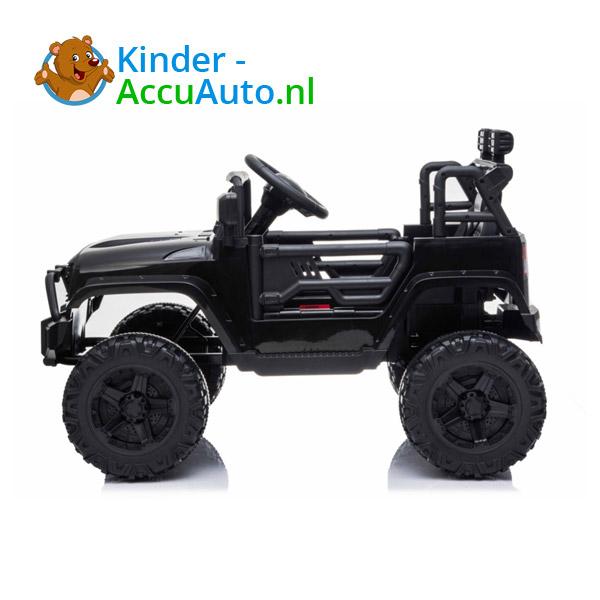 Jeep Mountain King Zwart Kinderauto 3