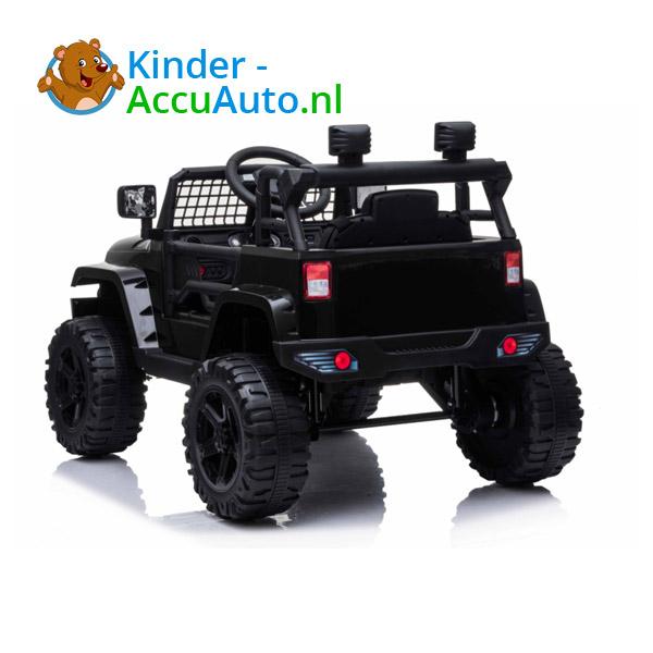 Jeep Mountain King Zwart Kinderauto 4