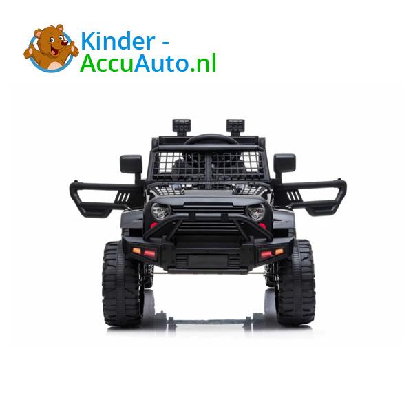 Jeep Mountain King Zwart Kinderauto 6