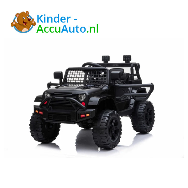 Jeep Mountain King Zwart Kinderauto 7