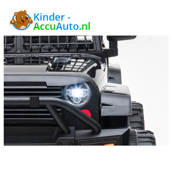 Jeep Mountain King Zwart Kinderauto 8