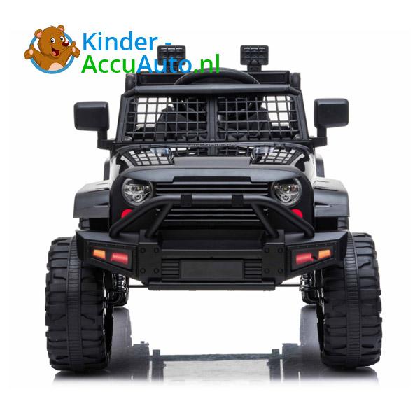 Jeep Mountain King Zwart Kinderauto 9