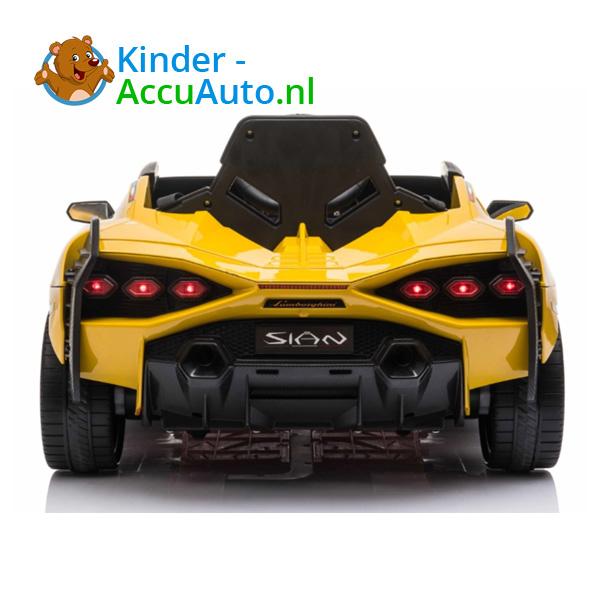 Lamborghini SIAN Geel Kinderauto 6