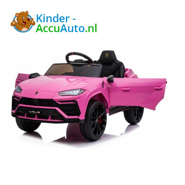 Lamborghini Urus Roze Kinderauto 3