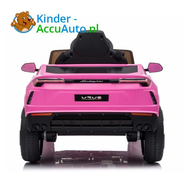 Lamborghini Urus Roze Kinderauto 4
