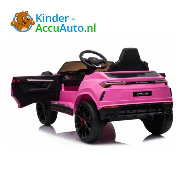 Lamborghini Urus Roze Kinderauto 5