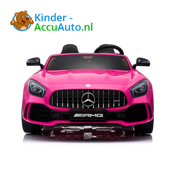 Mercedes GTR 2-zitter Roze Kinderauto 2