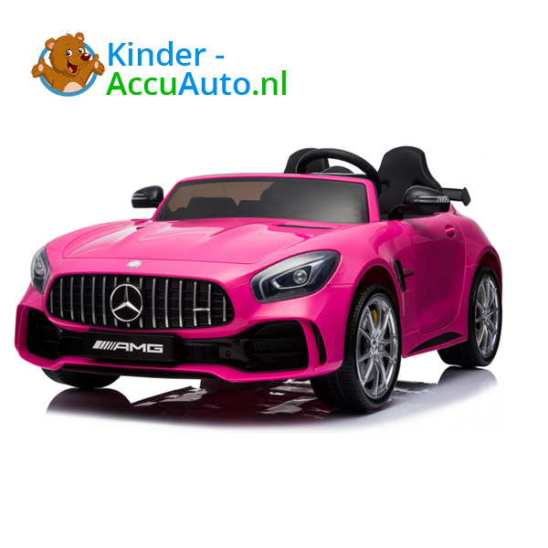Mercedes GTR 2-zitter Roze Kinderauto 3