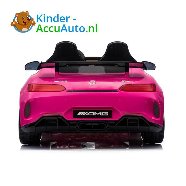 Mercedes GTR 2-zitter Roze Kinderauto 4