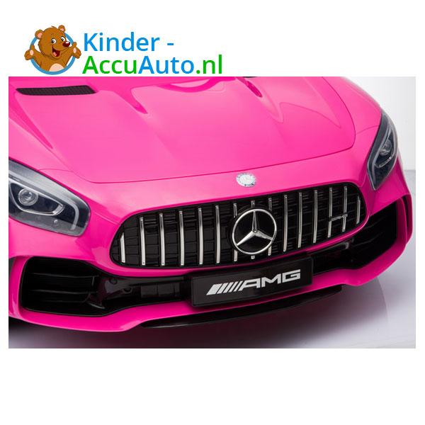 Mercedes GTR 2-zitter Roze Kinderauto 5
