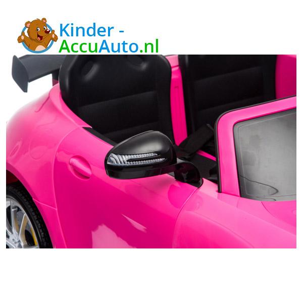 Mercedes GTR 2-zitter Roze Kinderauto 7