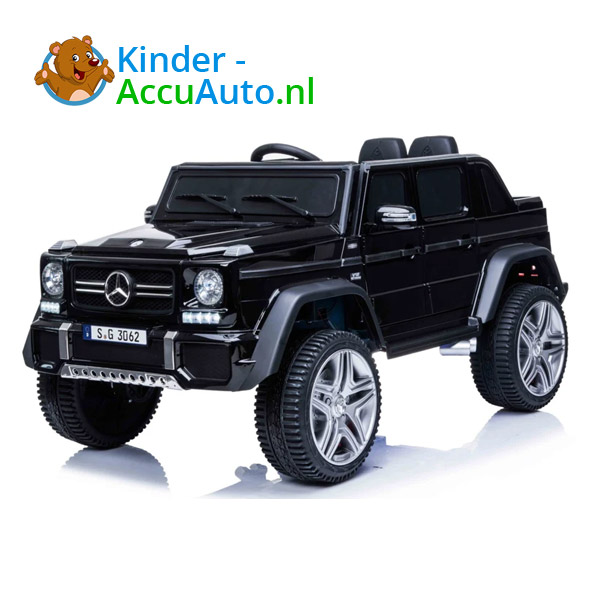 Mercedes MAYBACH Zwart Kinderauto 1