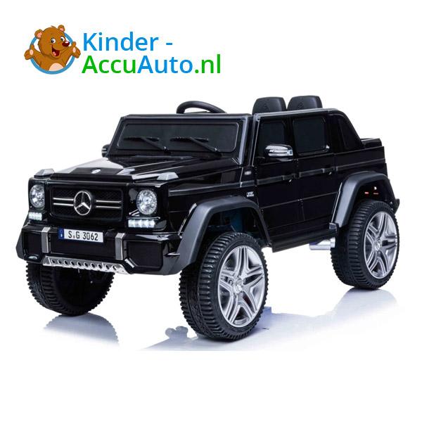 Mercedes MAYBACH Zwart Kinderauto 3