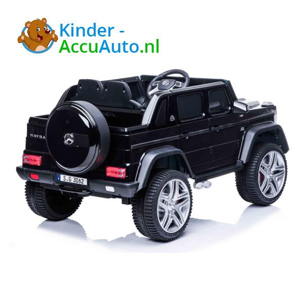 Mercedes MAYBACH Zwart Kinderauto 4