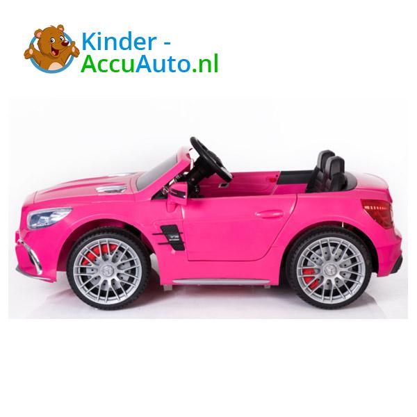 Mercedes SL65 Roze Kinderauto 2