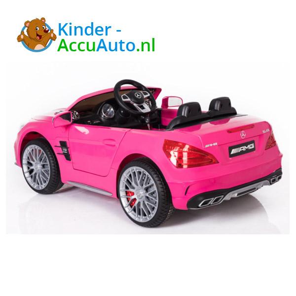Mercedes SL65 Roze Kinderauto 3