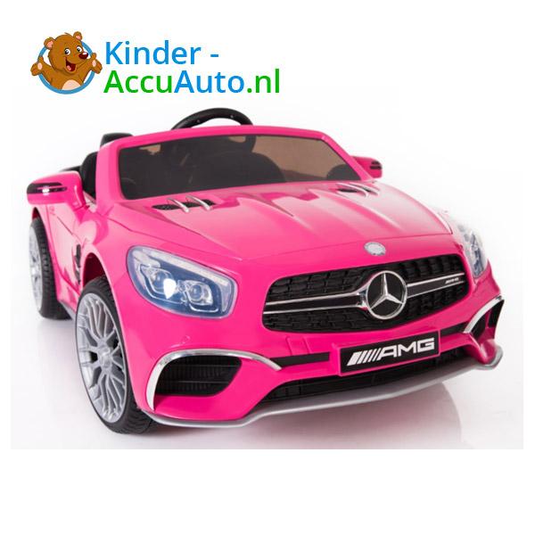 Mercedes SL65 Roze Kinderauto 4