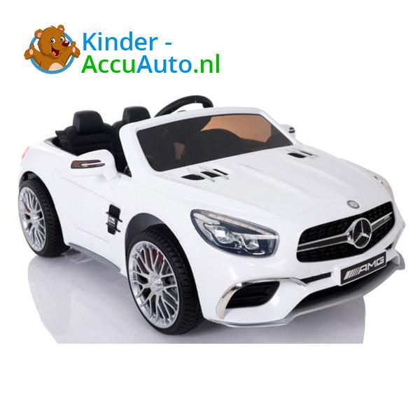 Mercedes SL65 Wit Kinderauto 1