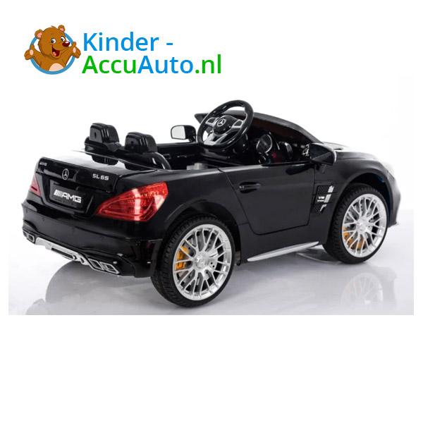 Mercedes SL65 Zwart Kinderauto 4