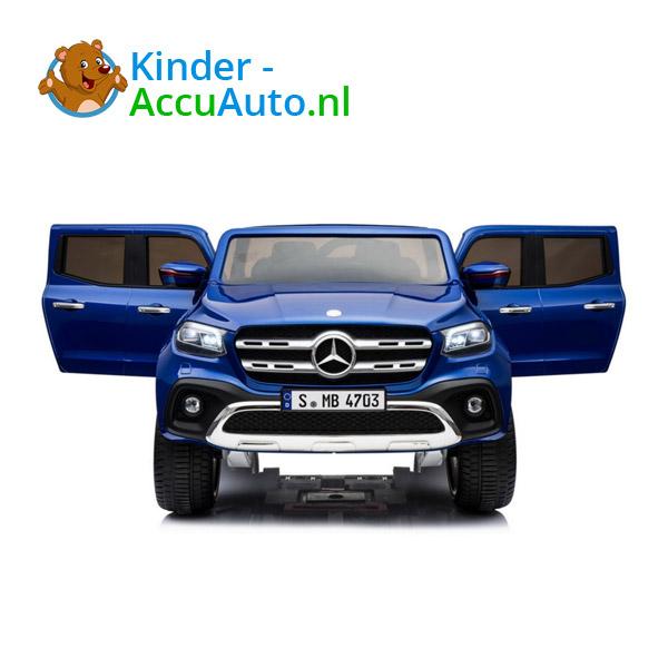 Mercedes X-Class Blauw Kinderauto 2persoons 4WD 2