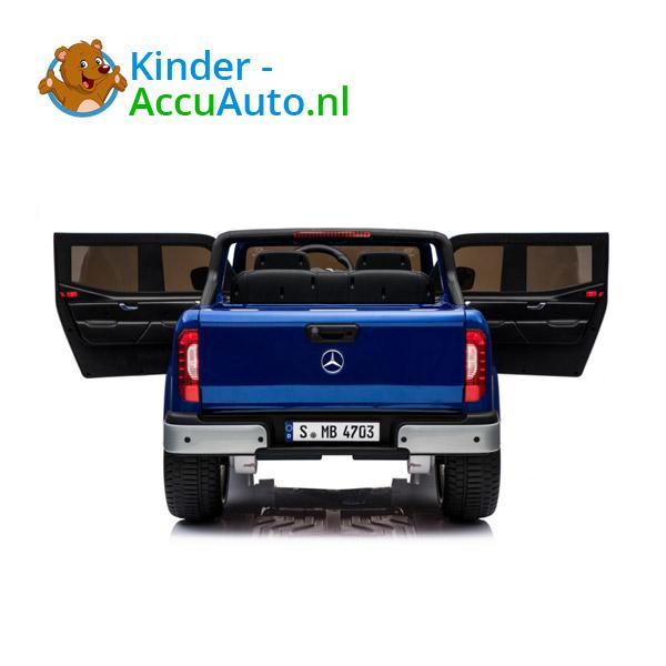 Mercedes X-Class Blauw Kinderauto 2persoons 4WD 6
