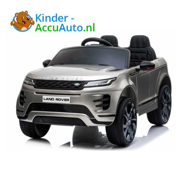 Range Rover Evoque Zilver Kinderauto 2