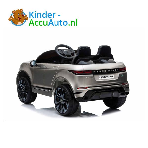 Range Rover Evoque Zilver Kinderauto 5