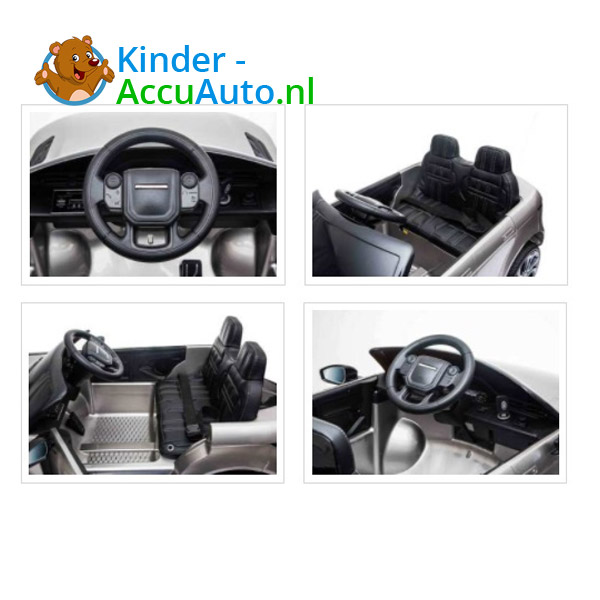 Range Rover Evoque Zilver Kinderauto 8