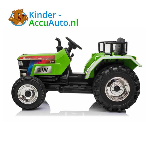 Tractor Blazin Wheels Groen Kindertractor 4