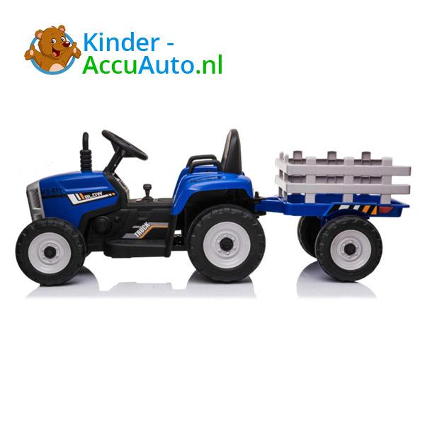 Tractor Trailer Blauw Kindertractor 5