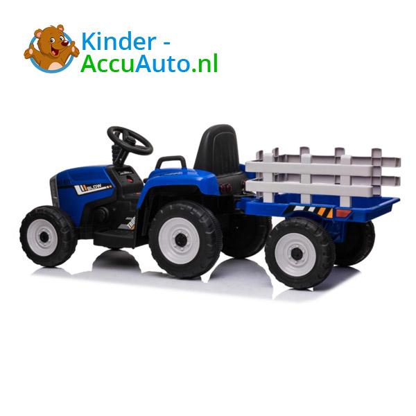 Tractor Trailer Blauw Kindertractor 6